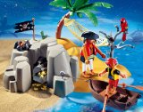 PLAYMOBIL - Kompaktset Pirateninsel
