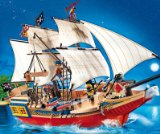 Groes Piraten-Tarnschiff - PLAYMOBIL