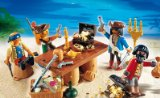PLAYMOBIL 4292 - Piratenbande mit Beuteschatz